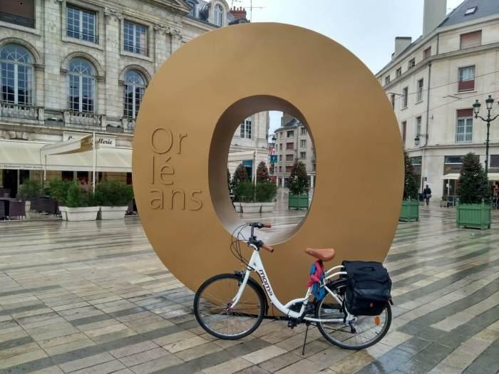 Castillos del Loira en bicicleta Orleans