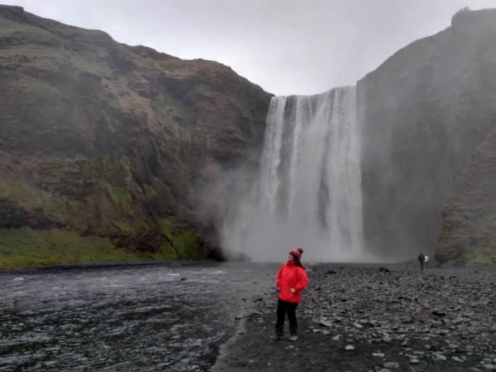 7 días por Islandia skogafoss