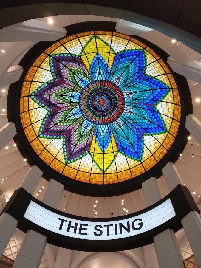 Qué ver en La Haya Vidriera del edificio The Sting la haya