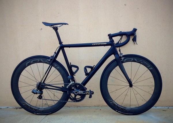 2013 Cannondale CAAD10 Black Inc Pedal Room
