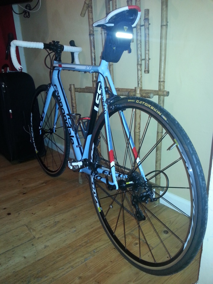 2014 Cannondale SuperSix Evo 3  Pedal Room