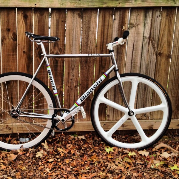 Bianchi Pista . Dada' Bike - Pedal Room