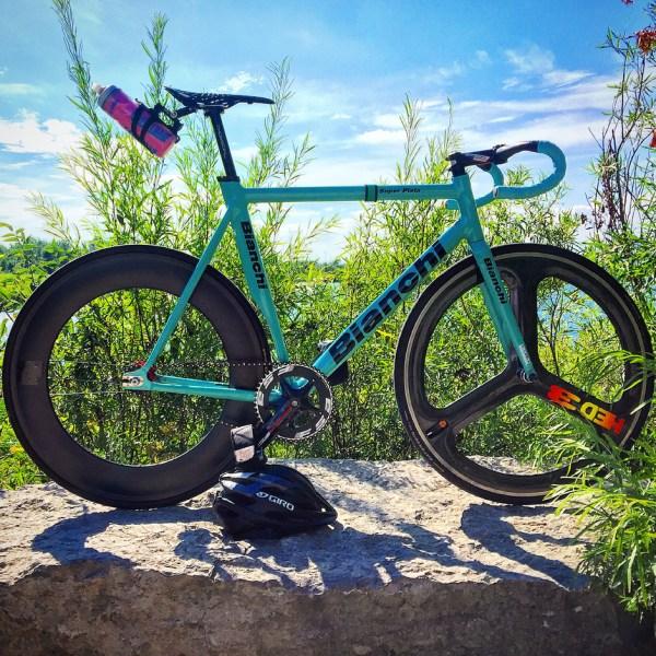Bianchi Super Pista 2016 - Pedal Room