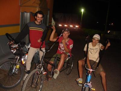 Viagem de bicicleta - encontros na estrada