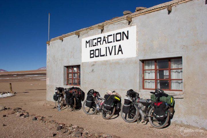 Chegamos! Mais um país Sulamericano carimbado no passaporte.