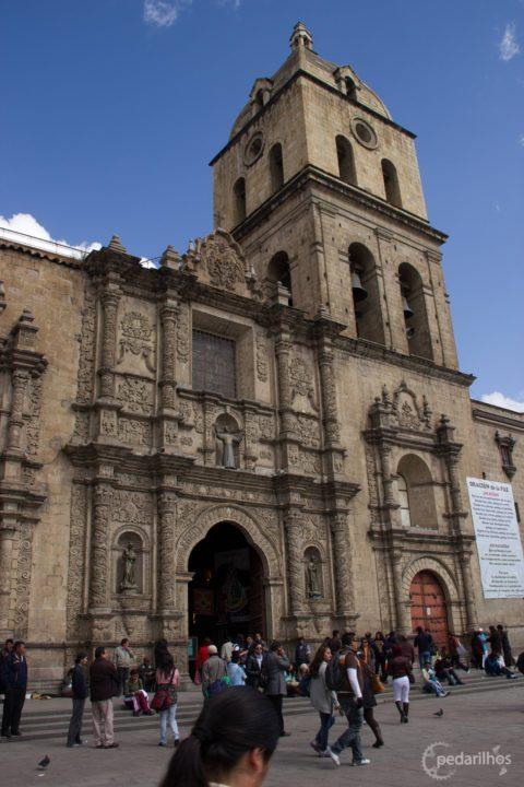 Igreja de San Francisco, La Paz, Bolivia