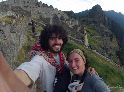 Achei meu cholito em Machu Picchu.