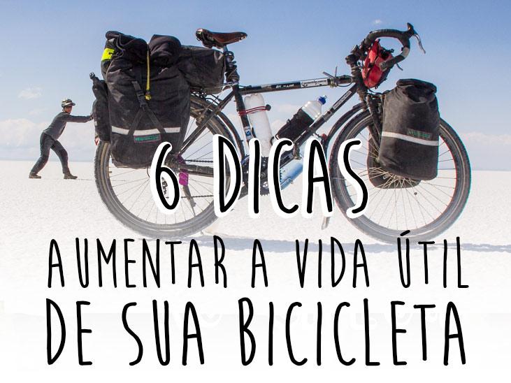 6 Dicas para Aumentar a vida util da sua bicicleta