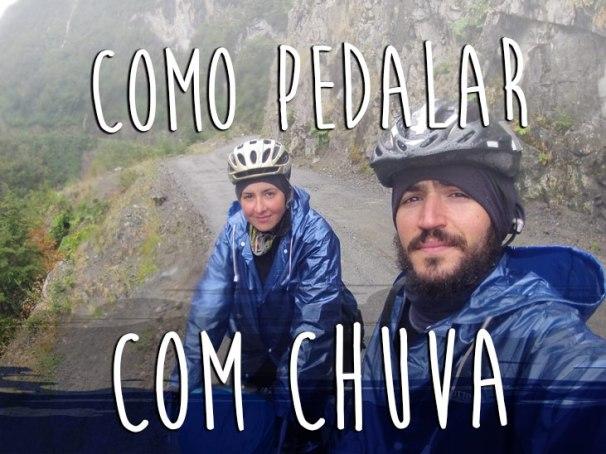 Dicas para pedalar com Chuva