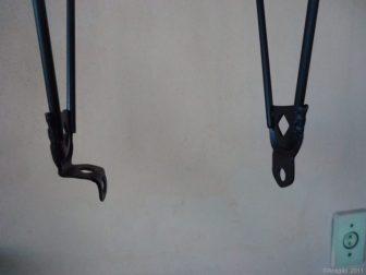 Link 1 - Detalhe na adaptação para que o bagageiro seja utilizado com freio a disco. Por Waldson Antigão