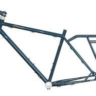 Bagageiro para sua bicicleta: Super Quadro de Cromoly com Bagageiro Traseiro Acoplado. (Marca Tout Terrain)