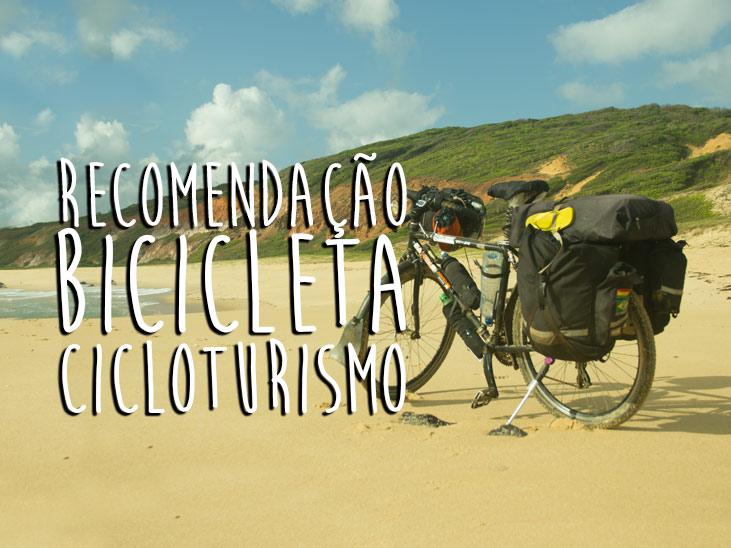 Recomendação Bicicleta Cicloturismo