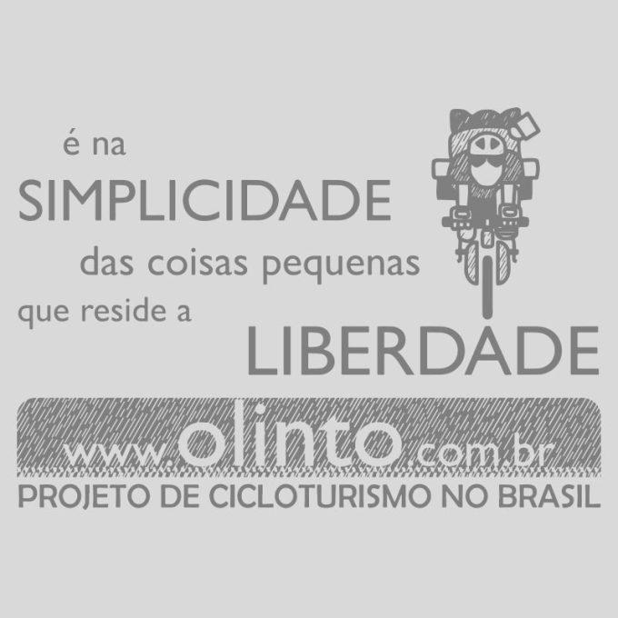Estampa Projeto de Cicloturismo no Brasil