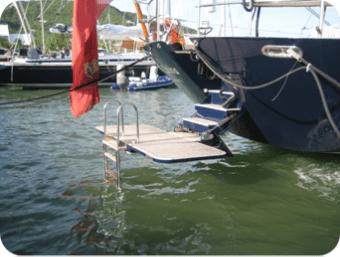 Dive platform - fully deployed