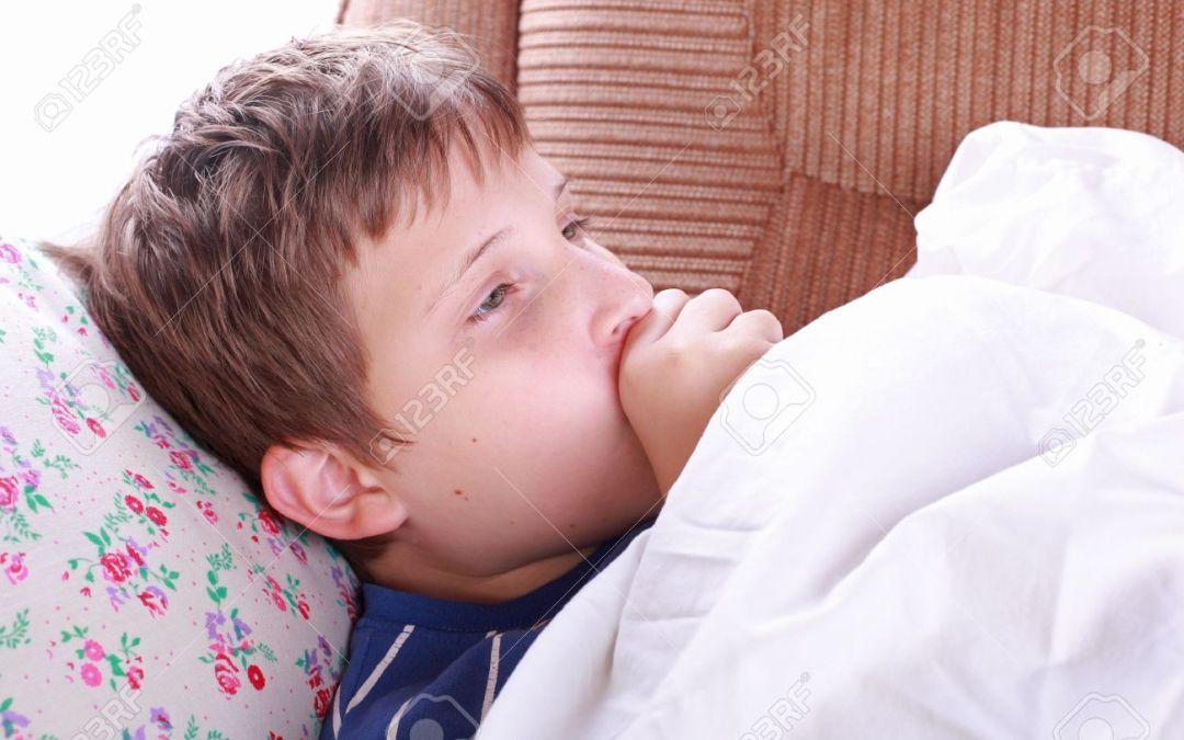 ¿Cómo cuidar a un niño enfermo?