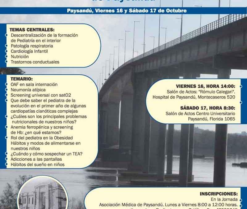Jornadas de Pediatria Paysandu por los 100 años del Hospital
