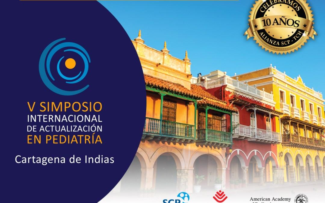 V Simposio Internacional de Actualización en Pediatría 2016, Cartagena de Indias.
