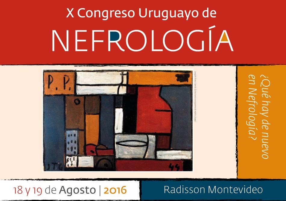 X CONGRESO URUGUAYO DE NEFROLOGIA