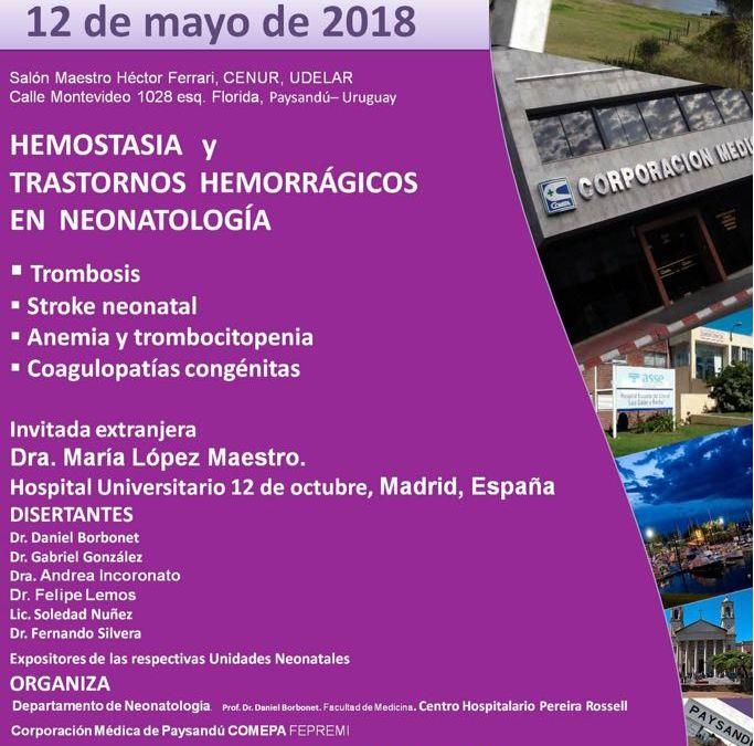 3er ENCUENTRO NACIONAL DE UNIDADES NEONATALES, 20º ANIVERSARIO DE UCEPYN COMEPA, 12 DE MAYO 2018.