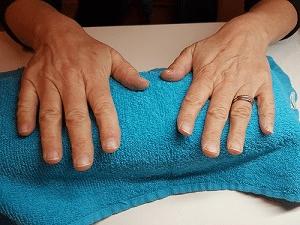 Nagels voor de behandeling