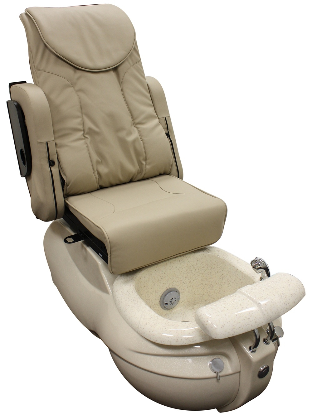 Pedicure chair with pipeless jet spa massage chair