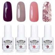 gel nail polish colors fall 2017