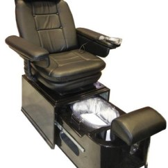 Portable Pedicure Chairs Banana Leaf Pibbs Ps92-b Black Footsie Spa | Pedisource