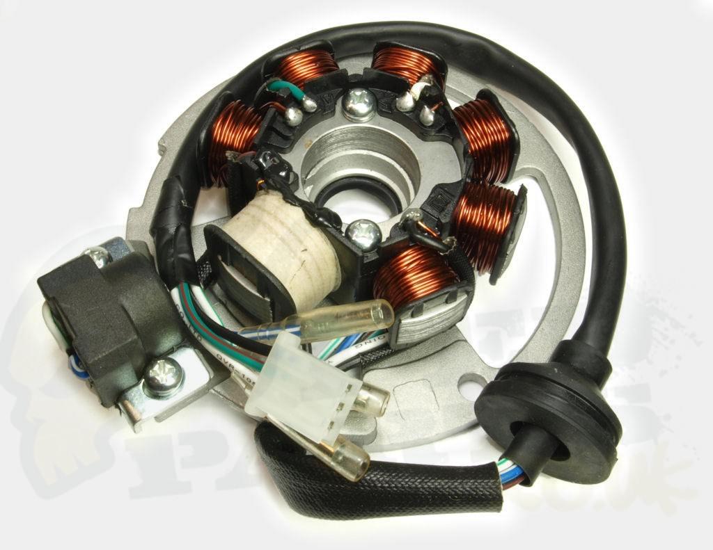 derbi senda 50cc wiring diagram ford tractor solenoid chinese 2 stroke stator plate pedparts uk