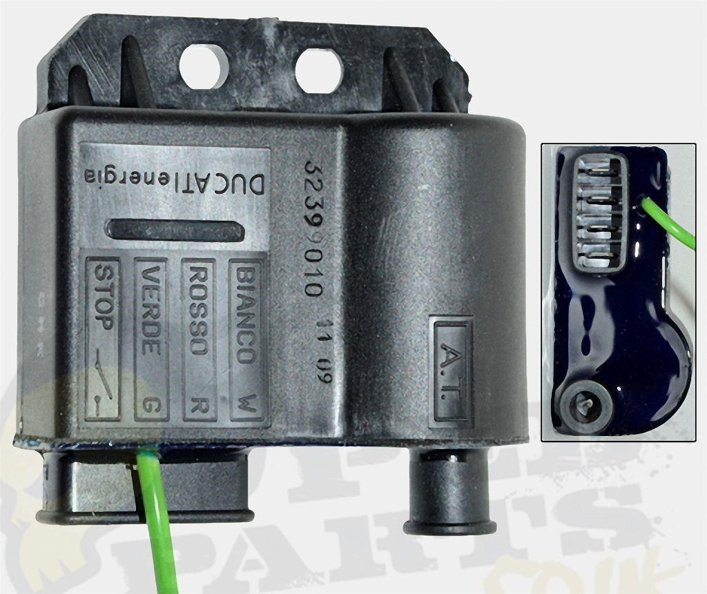 derbi senda 50cc wiring diagram tempstar furnace ducati ignition cdi ht coil am6 pedparts uk