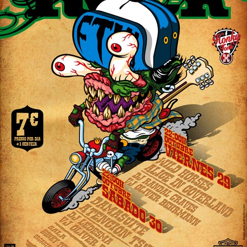 Cartel Moto Rock 2010