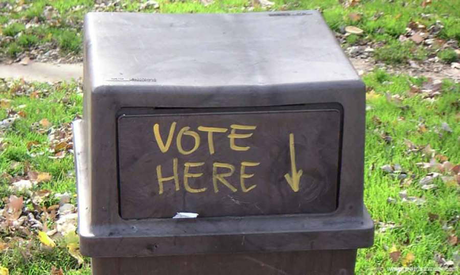 Su voto puede ser cómplice