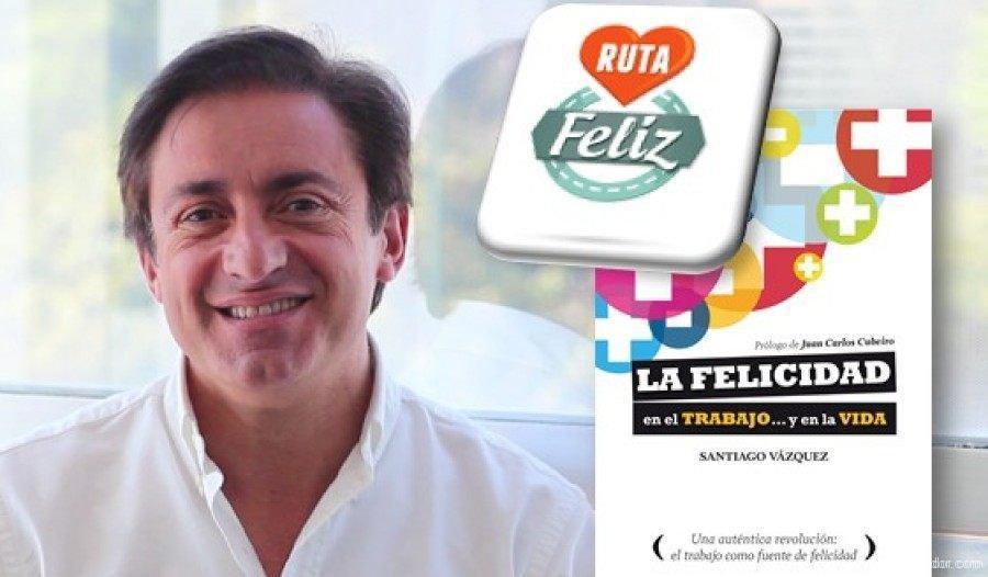 Entrevista de felicidad a Santiago Vázquez para Ruta Feliz