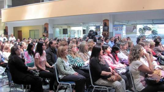 Fotos conferencia Motivación Elbio Fernández Uruguay
