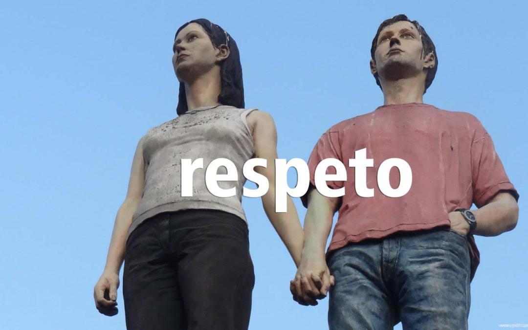 La distancia más corta entre dos puntos es una línea recta. Entre dos personas es el respeto.