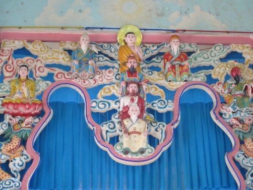VIETNAM-Ho Chi Minh Templo Cao Dai