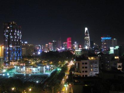 VIETNAM Ho Chi Minh sklyline