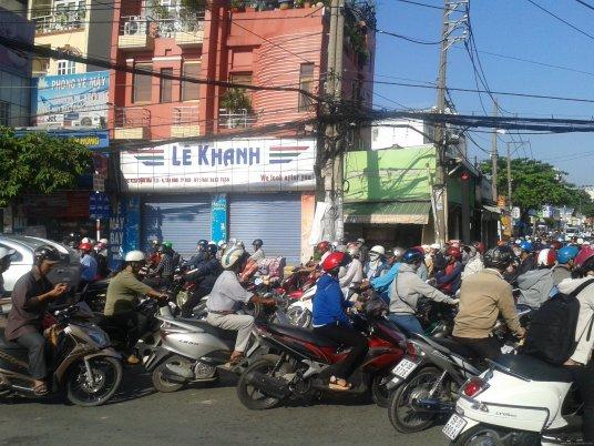 VIETNAM-Hochiminh trafico