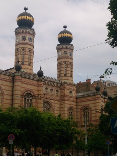 BUDAPEST Sinagoga