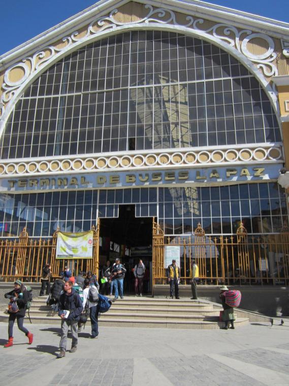 BOLIVIA Estacion autobuses