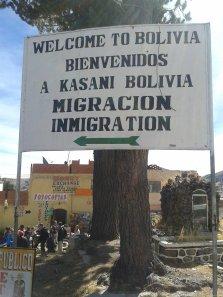 BOLIVIA-Frontera KASANI