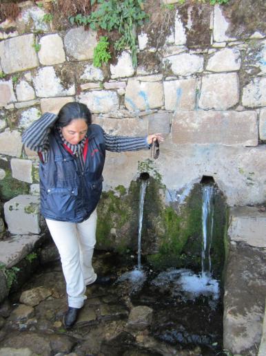 BOLIVIA-Isla del Sol -fuente de jueventud