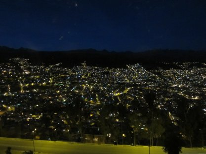 BOLIVIA-La Paz de noche