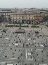 MILAN Plaza del Duomo