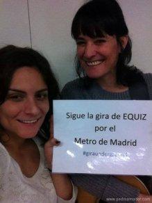 Mónica Y Laura Equiz Guira Metro Madrid
