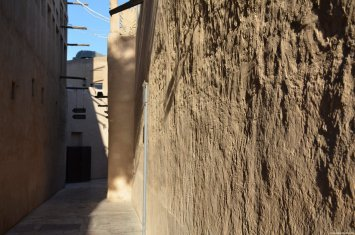 Paredes Al Bastakiya Historical Area