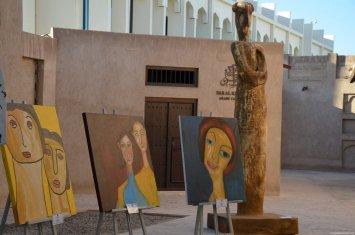 Pinturas Al Bastakiya Historical Area
