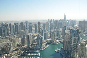 View from Marriot Dubai Marina 2