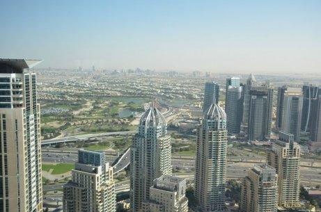 Excelente vista desde Marriot Dubai Marina
