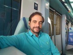 Cómo es el metro de Dubai