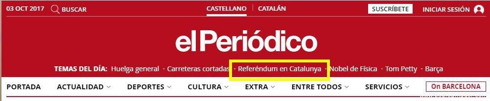 El Periódico Referedum